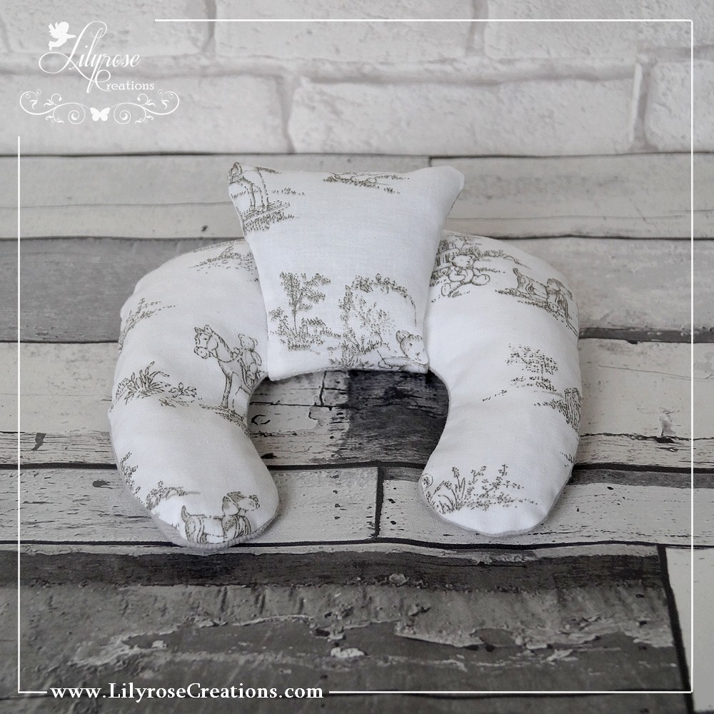 Coussin shabby